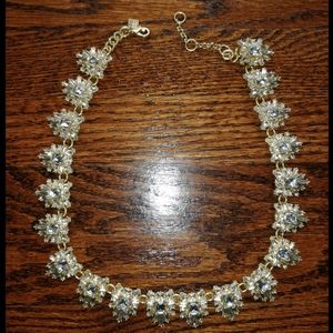 Banana Republic Starburst Crystal Necklace